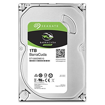 Жесткий диск SATA Seagate 1000Gb, ST1000DM010, Barracuda 7200 rpm, 64Mb buffer (аналог ST1000DM003) [ST1000DM010]